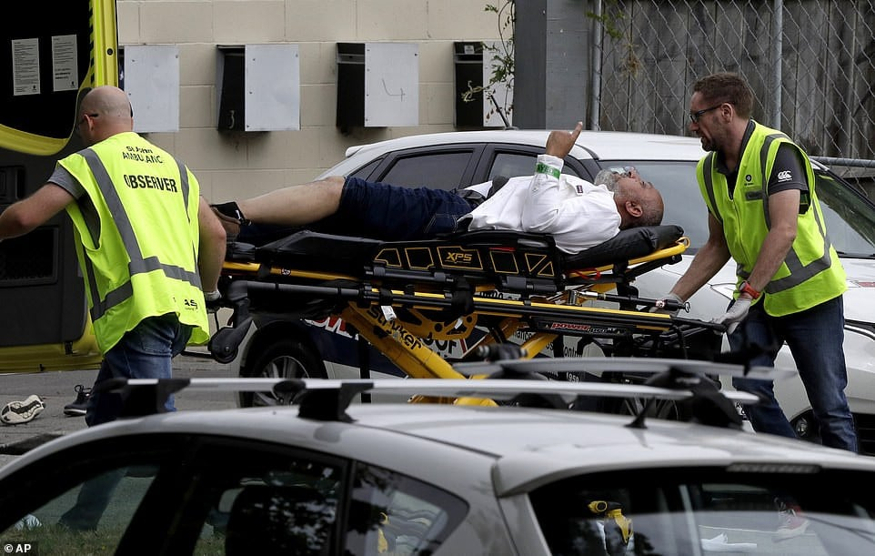 40 dead as white supremacist opens fire in a mosque in New Zealand and livestreams the slaughter
