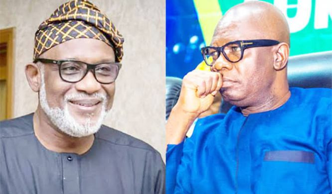 Governor Akeredolu, Police Commissioner Respond To His Deputy's Arrest