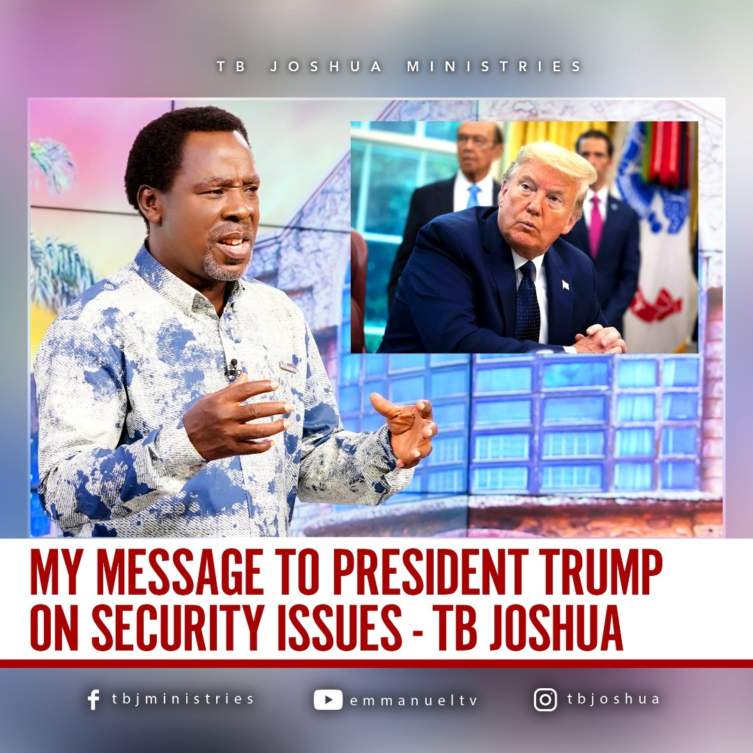 FRESH PROTESTS AGAINST RACISM IN USA CONFIRMS TB JOSHUA PROPHECY