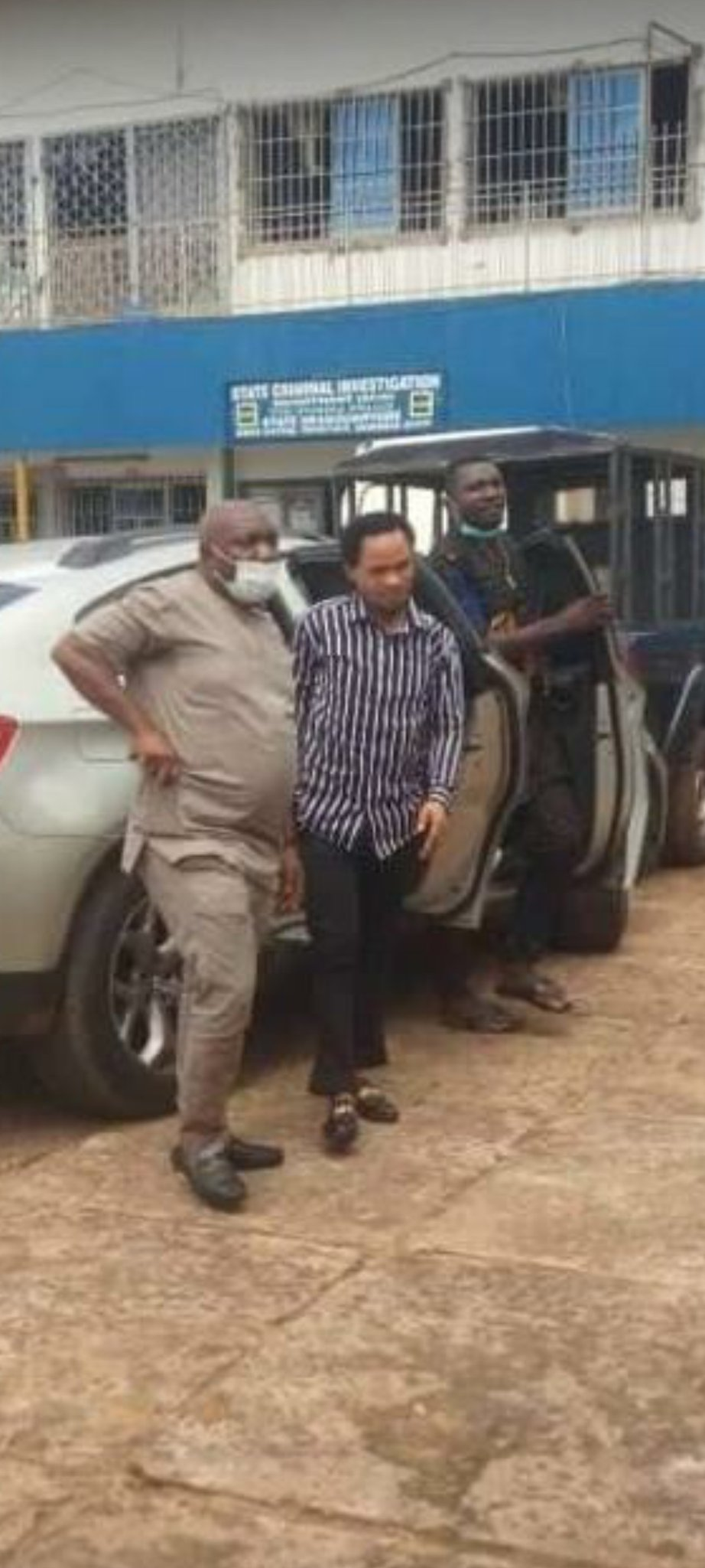 Odumeje spotted at state CID Awka