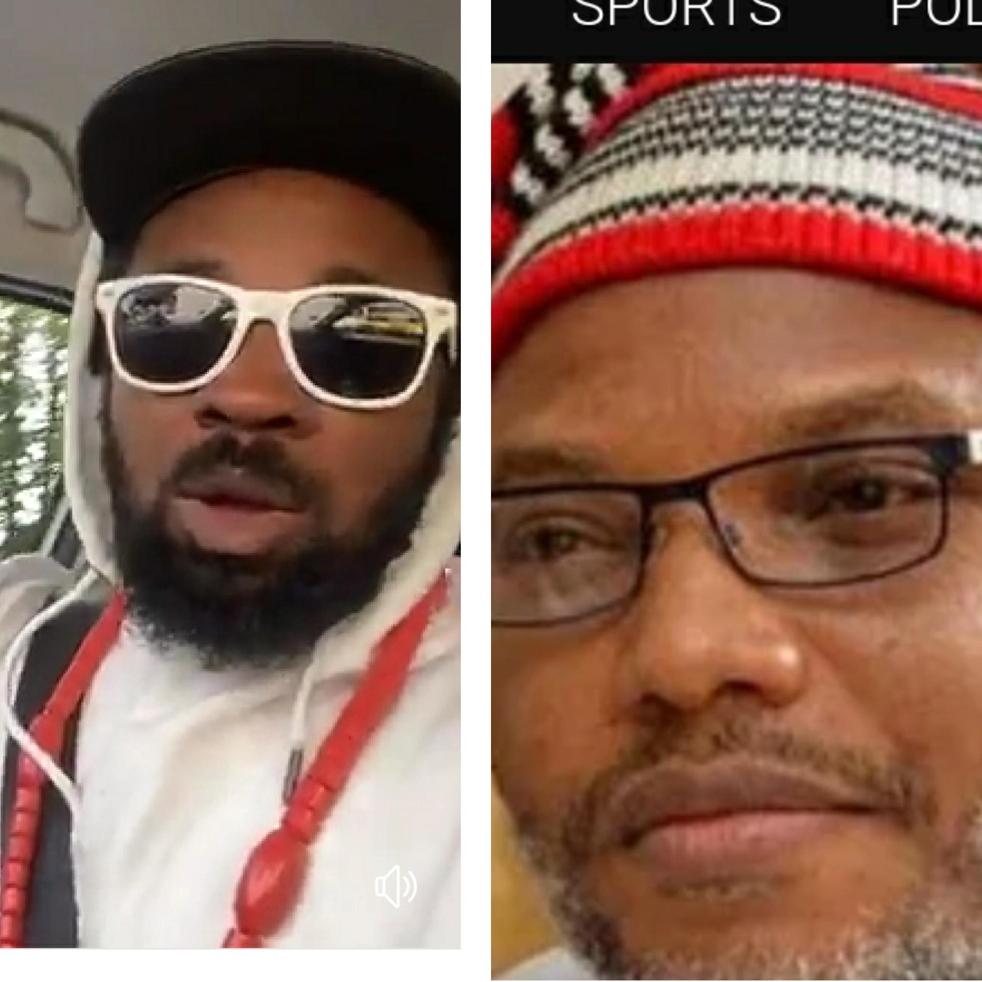Nnamdi Kanu And Eze Awo Fight Dirty Online