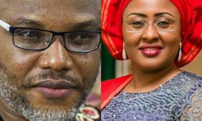 Nnamdi Kanu Speaks On Aisha Buhari , Defense Funds And Aso Rock Fire