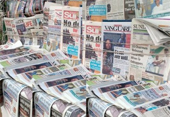 Top News Headlines For Today June 25 Of Nigerian Newspapers Online