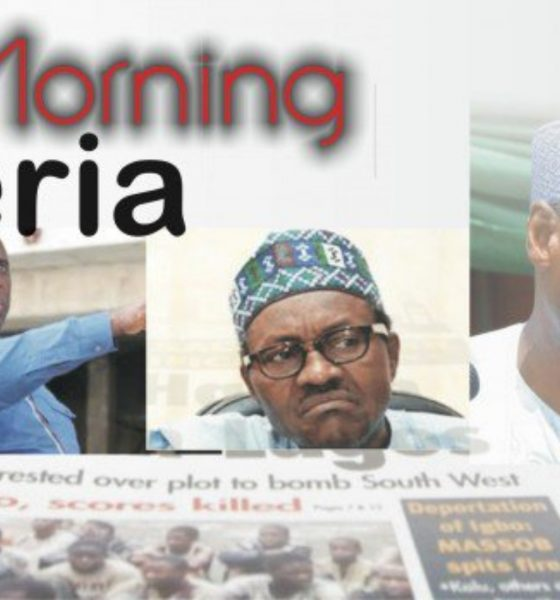 Top Headline Of Nigerian Newspapers Online For Today June 26
