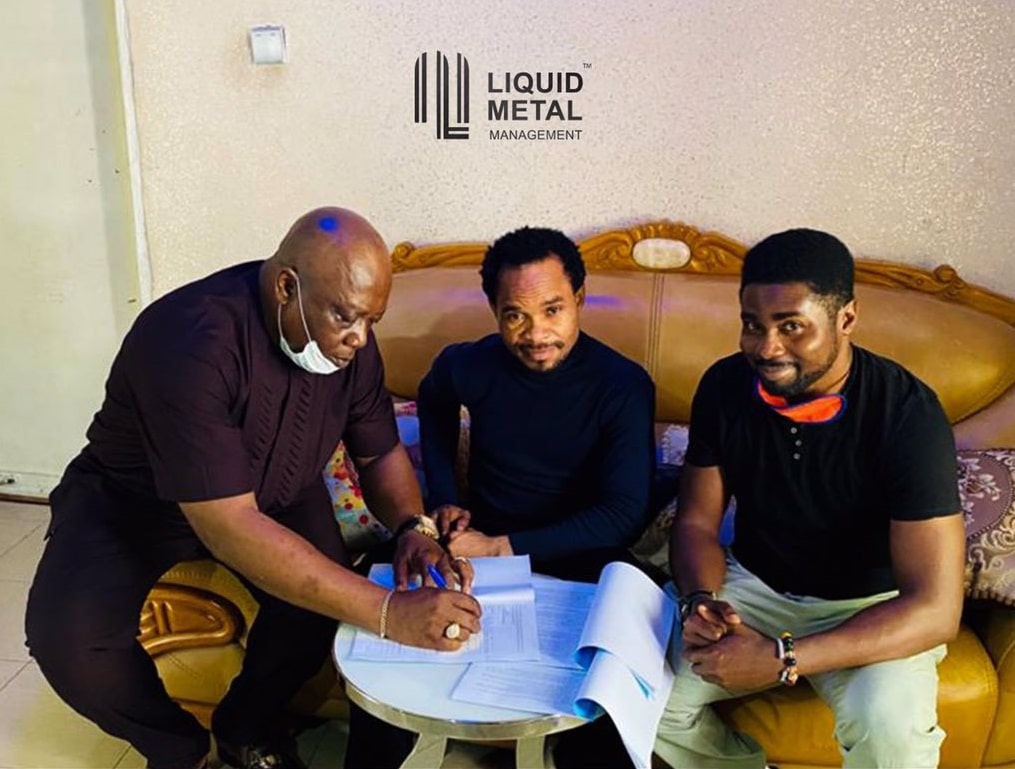 Odumeje Indaboski signed to Liquid Metal Management