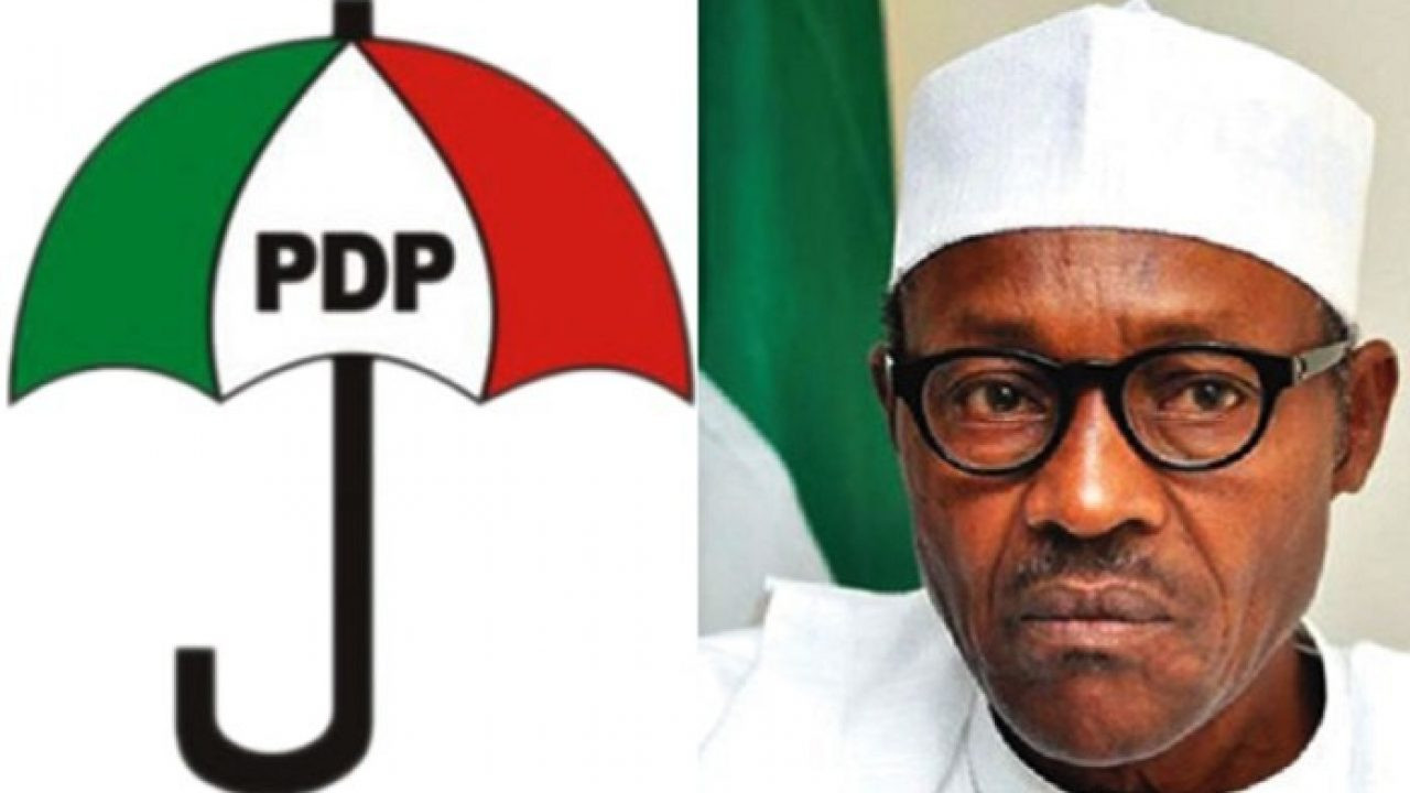 PDP Advises Buhari On What To Do After Aso Rock Shooting