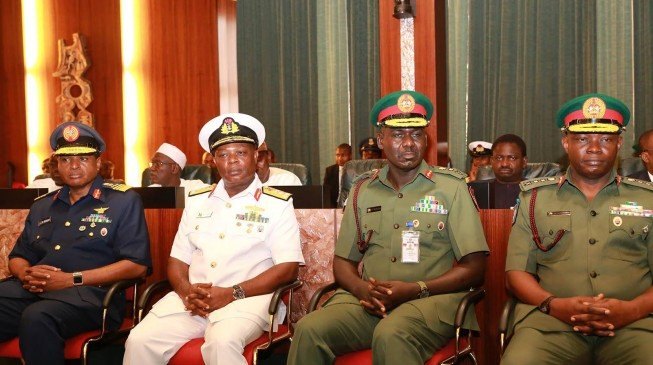 Service Chiefs Berated By Buahri Over The Spate Of Insecurity In Nigeria