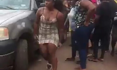 Cee-C Of BBNaija's Car Brake Fails In Enugu (Video)