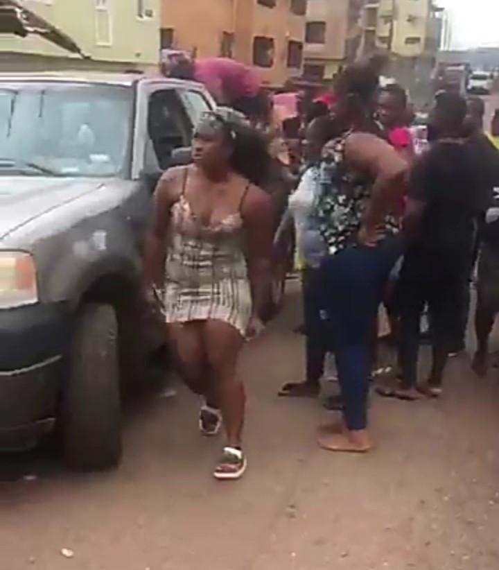 Cee-C Of BBNaija's Car Brake Fails In Enugu (Video)