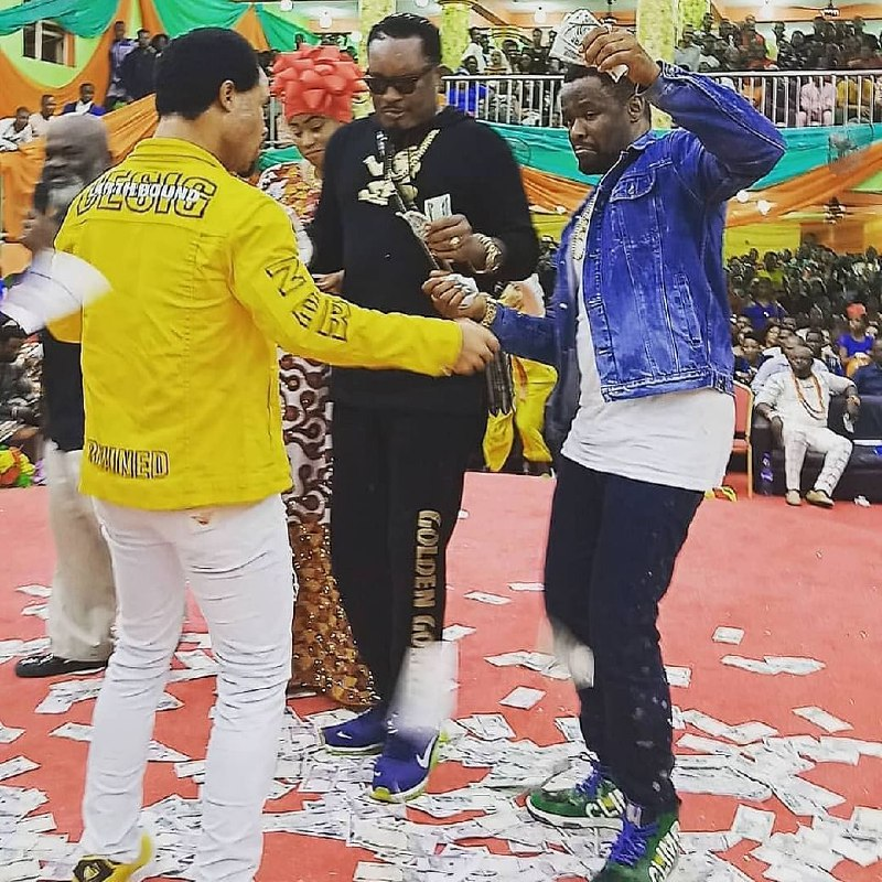 Odumeje Officially Joins Davido, Wizkid As Entertainers