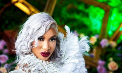 Tonto Dikeh has been showered with a N17 million 2019 Mercedes Benz C300 4matic as birthday gift .