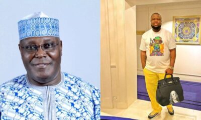 HUSHPUPPI : Why Nigerians Protested At The US Embassy