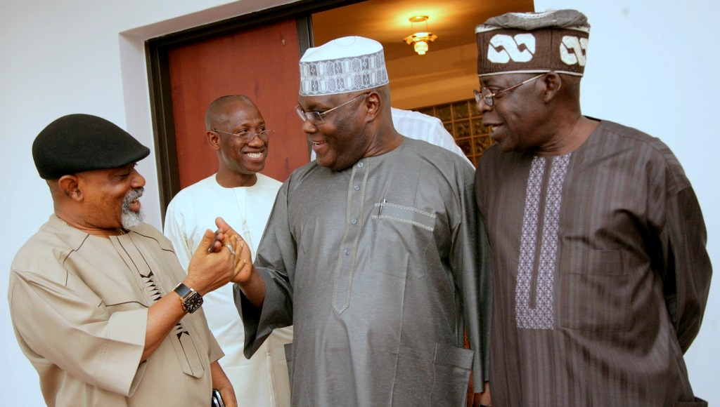 TINUBU VS NGIGE : Tinubu Always Collected Watches From Atiku's Hand