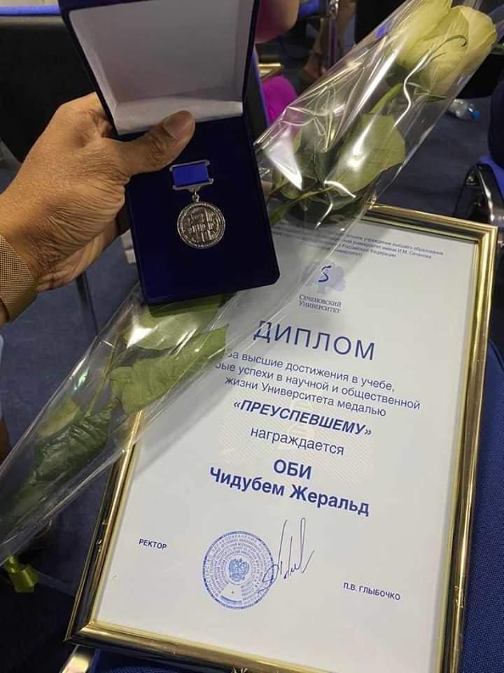 Nigerian Man, Dr Chidubem Obi, Breaks Record In Russian University