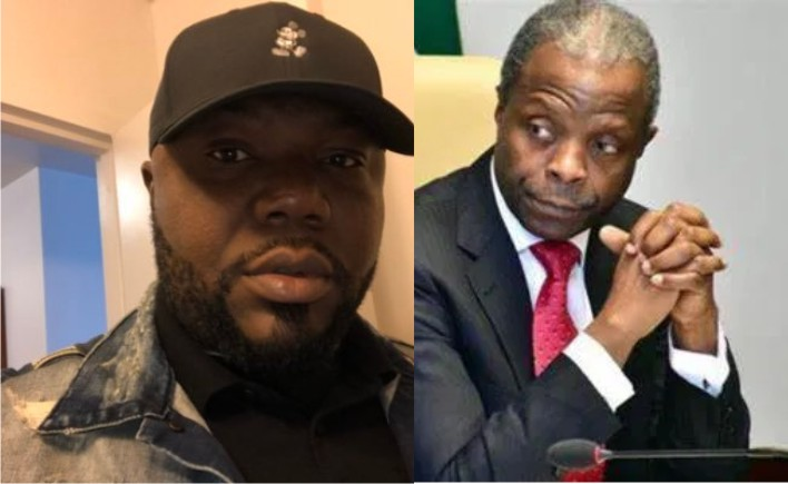 Alleged N4b Loot : Osinbajo Resign And Sue Me - Jackson Ude Blows Hot
