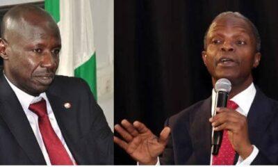 Magu Speaks On Giving Osinbajo N4b As Buhari Replaces Him