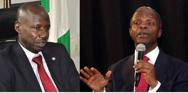 Magu Speaks On Giving Osinbajo N4b As Buhari Replaces Him