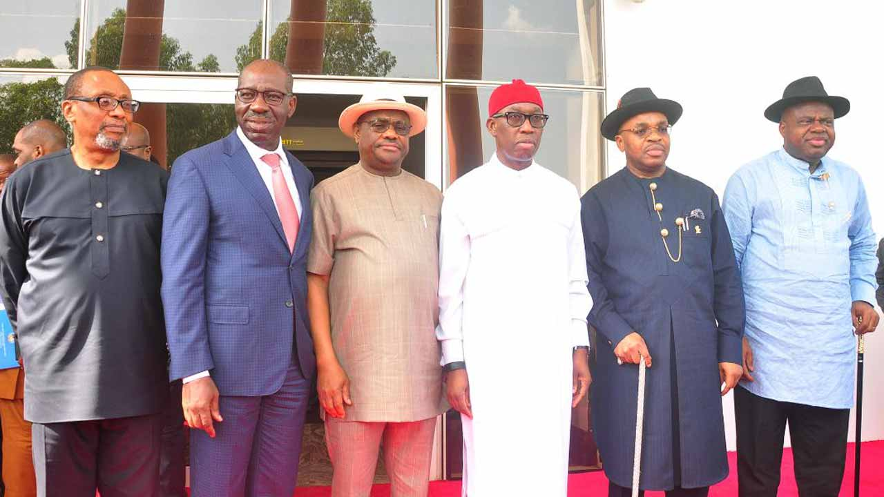 NDDC : South South Governors Speak On Forensic Audit