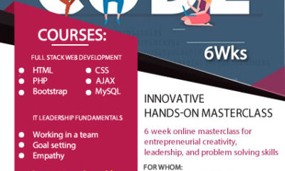 Derasoft Consulting, The Whistler hold 6-week immersive digital skills training for youths