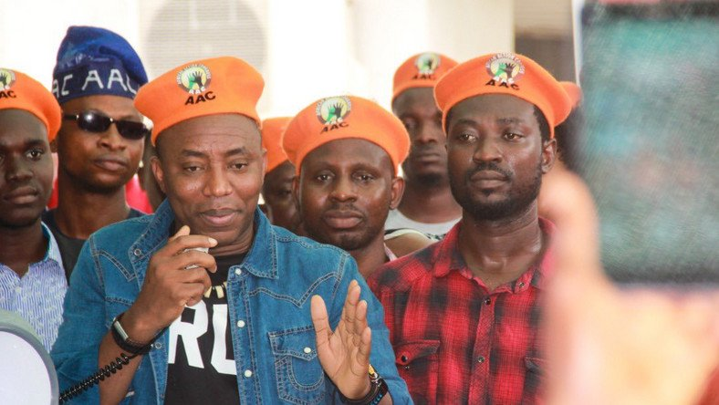Wht Federal Government Wants To Rearrest Sowore Today - AAC Reveals