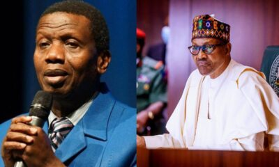 BREAKING : Pastor Adeboye And President Buhari In Closed Door Meting