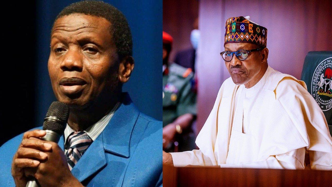 BREAKING : Pastor Adeboye And President Buhari In Closed Door Meting