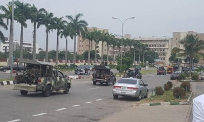 REVOLUTION NOW LIVE UPDATE: Security Agencies Lockdown Abuja
