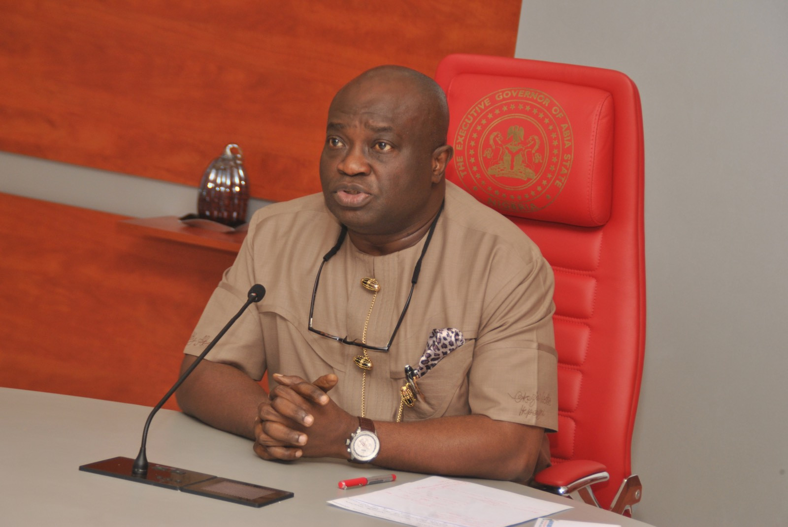 COVID-19 : Why I Was Not Treated In Abia State - Gov. Ikpeazu