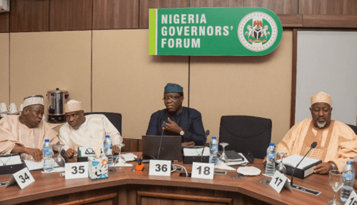 We Are Appalled By The Worsening Security Situation - Nigerian Governors Write