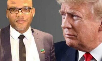 See What Nnamdi Kanu Wants Trump To Do In Nigeria