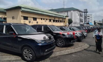 Wike Gifts 41 Range Rover SUVs To Rivers Judges, Nigerians React
