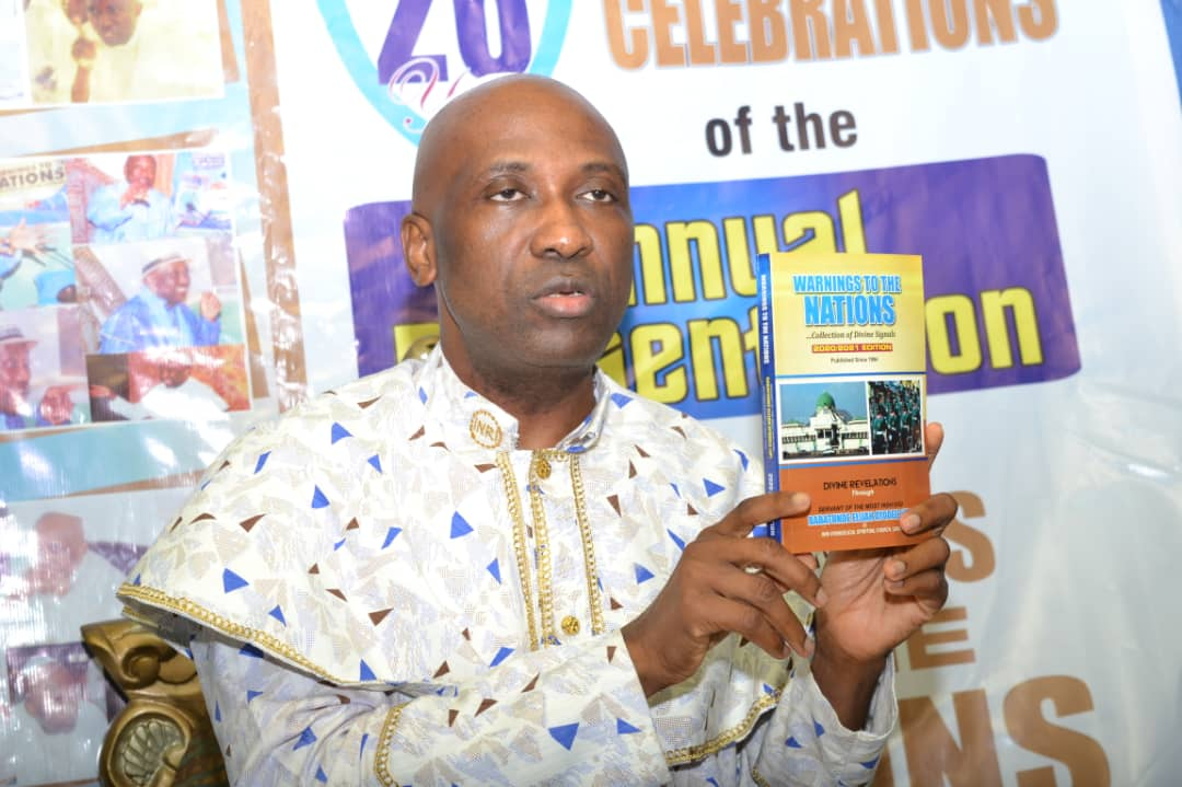 Primate Ayodele Sets World Record, Launches Compendium Of 10,000 Fulfilled Prophecies...Releases Warning To The Nations 2020/2021 Edition