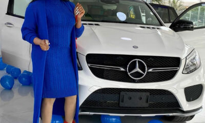 Bobrisky Gifts Himself New Mercedes Benz As Birthday Gift (Video)