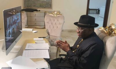 Goodluck Jonathan Presents 10 Major Achievements He Handed To Buhari