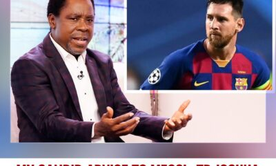 MESSI TAKES TB JOSHUA'S ADVICE, STAYS BACK IN BARCELONA