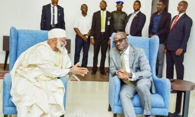 See Why Abdulsalami Abubakar And Bishop Kukah Are In Edo State