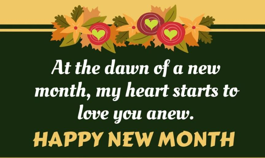 100 Happy New Month Messages, Prayers, Wishes For October