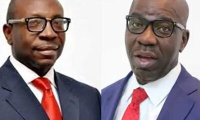 EDO DECIDES:Results From INEC Center In Benin Show Obaseki In Lead