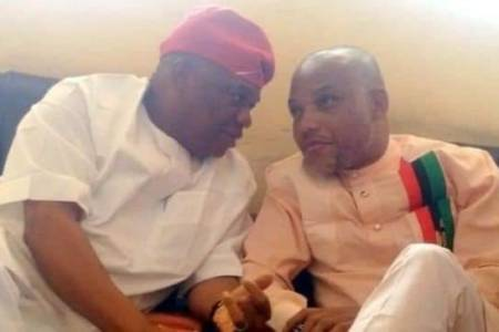 Ekweremadu's Treatment Will Be Better Than Yours - Nnamdi Kanu To Orji Kalu