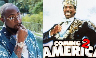 Davido Breaks Into Hollywood, To Feature In Coming To America 2