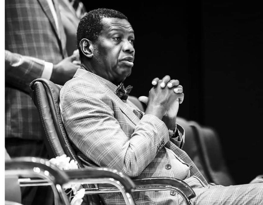 VIDEO : Restructure Nigeria Or Break Up Nigeria - Pastor Adeboye