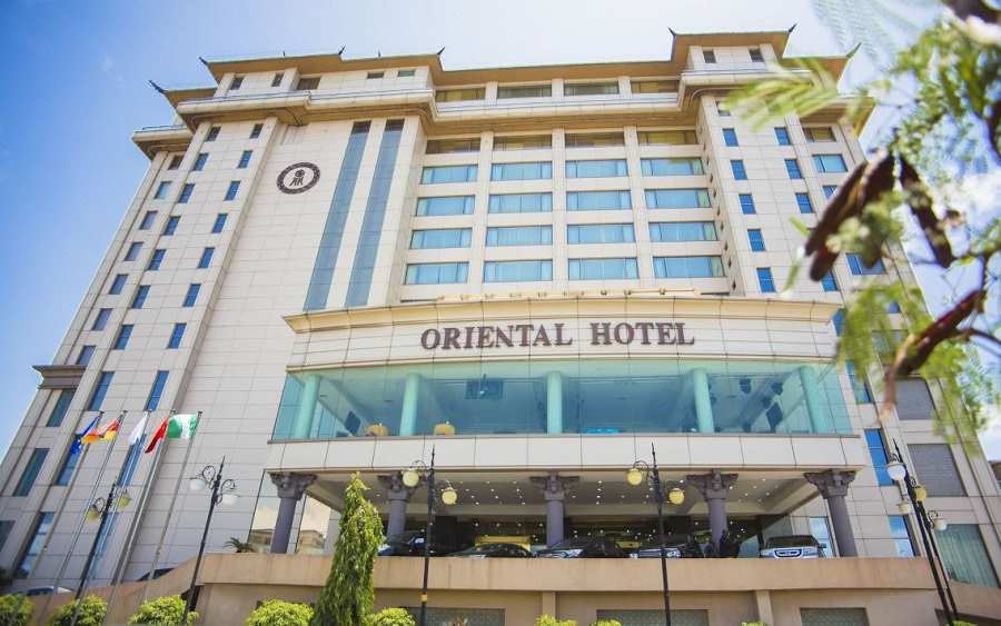 End SARS : Video Of Snipers Stationed On Top Of Oriental Hotel