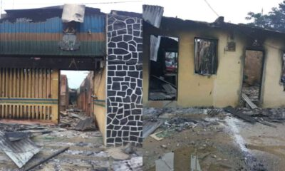 Nigerian Police Says IPOB Burnt 3 Police Stations In Rivers State