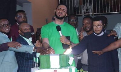 Chris Okafor 's Grace Nation Joins To Celebrates Nigeria At 60
