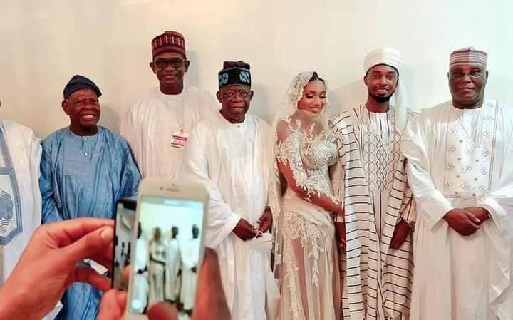 PHOTOS : APC Stalwarts Storm Atiku Son And Ribadu's Daughter's Wedding