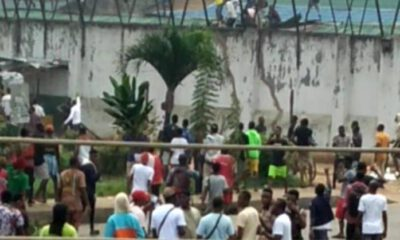 End SARS : See Full Video Of Benin Jailbreak
