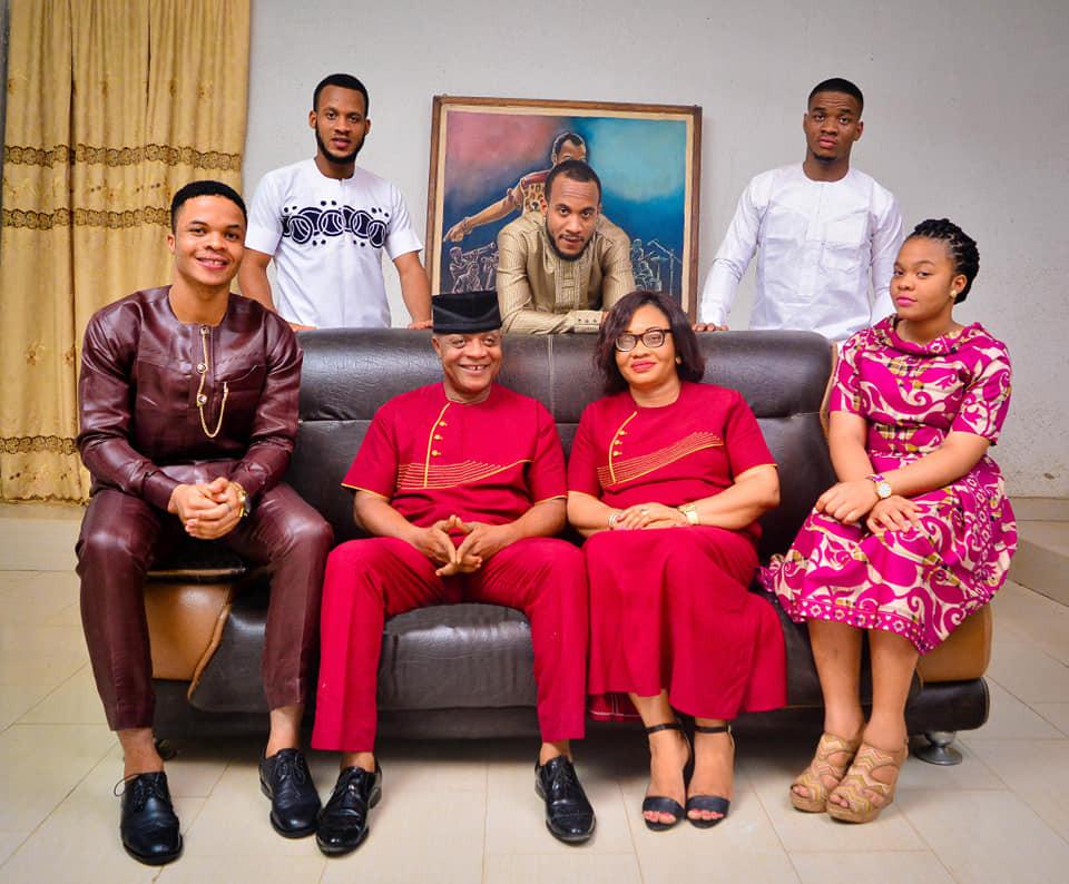 Bright Chimezie Celebrates 60Th Birthday With Lovely Family Photos