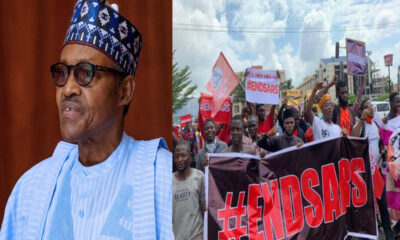 #EndSARS : Buhari Finally Addresses Nigerian Youths