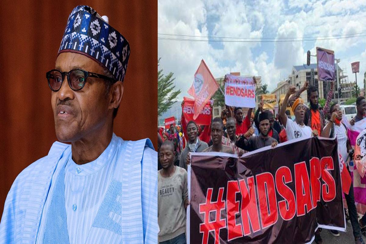 #EndSARS : Buhari Finally Addresses Nigerian Youths