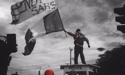 LEKKI :Videos Of Protesters Demanding Buhari To EndSARS In Real Life